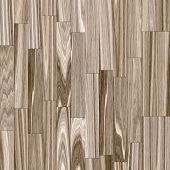 Abstract generated wooden planks natural pattern background poster