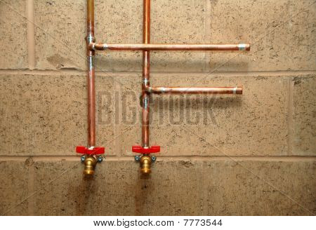 New Construction Water Pipes