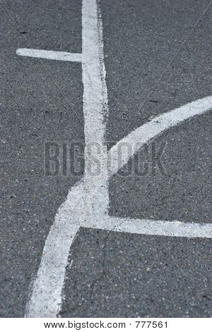 bball court lines