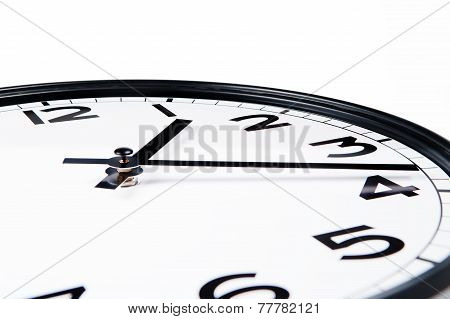 clock closeup