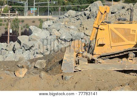 Bulldozer Rocks
