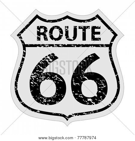 Vintage Route 66 Sign