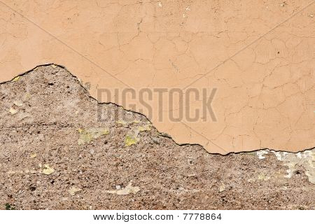 Plaster And Cement Background
