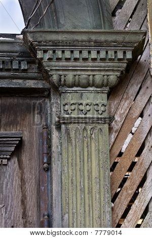 Old Victorian Pillar