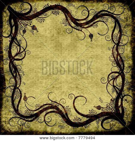 Swirl Grunge Textured Background