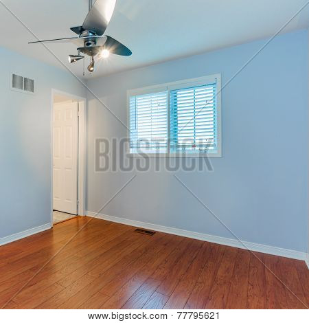 Empty Bedroom In A New townhome