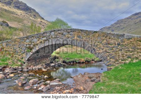 HDR bridge in Scotland