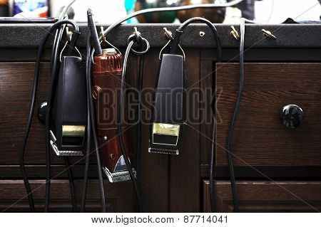 Barber accessories and tools
