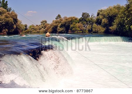 Waterfall In Manavgat Turkey