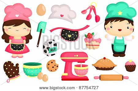 Bakes vector set