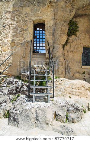 Church of Madonna dell'Idris. Matera. Basilicata. Italy.