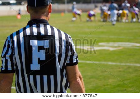 Referee - American Football Game Official -Referee