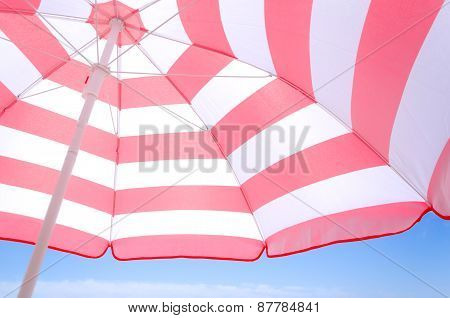 Beach Umbrella Background