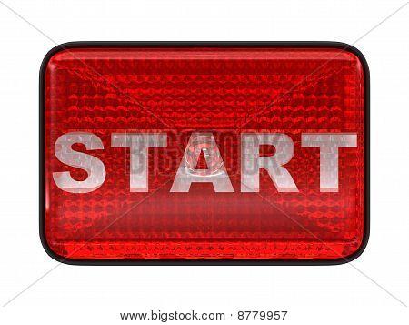 Start Red Button Or Headlight