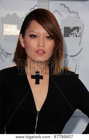 LOS ANGELES - FEB 11:  Hana Mae Lee at the MTV Movie Awards 2015 at the Nokia Theater on April 11, 2015 in Los Angeles, CA
