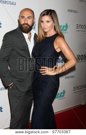 LOS ANGELES - JUN 30:  Michael Rossi, Charisma Carpenter at the 6th Annual Thirst Gala at the Beverly Hilton Hotel on June 30, 2015 in Beverly Hills, CA