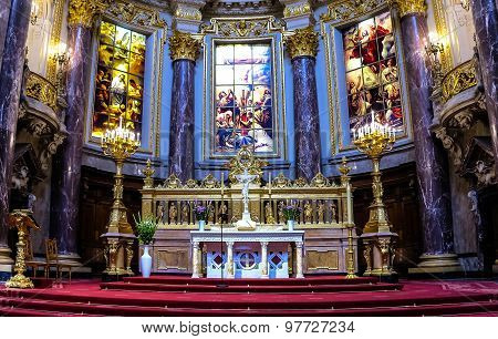Berlin Cathedral Interior, Germany