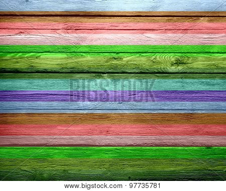 Colorful stripes pattern wood texture background