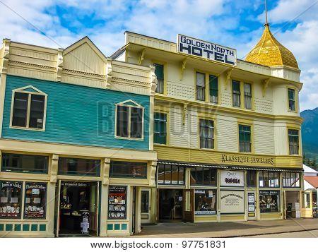 Gold rush town Skagway
