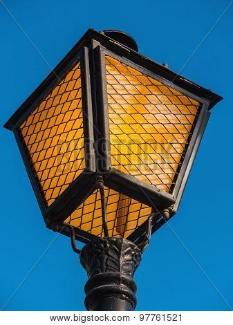Streetlamp Over The Sky