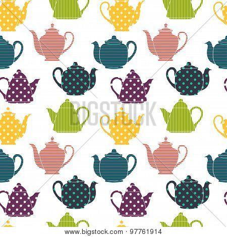Teapots Pattern