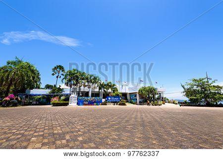 Front Of Phuket Aquarium