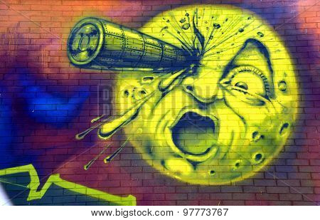 Street art, A Trip to the Moon
