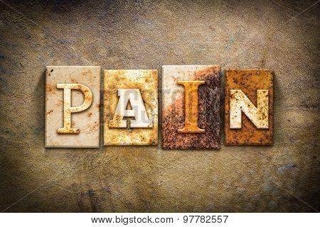 Pain Concept Letterpress Leather Theme