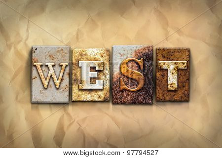 West Concept Rusted Metal Type