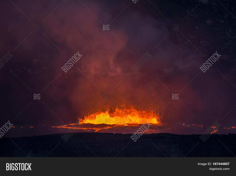 Boiling, Erupting Lava Image & Photo (Free Trial) | Bigstock