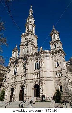 Cathedral of the Blessed Sacrament in Sacramento California