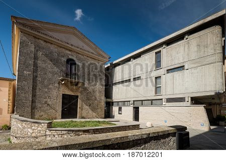 Massa Marittima, Tuscany, Medieval Town In Italy