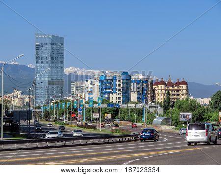Almaty -  Al-farabi Avenue