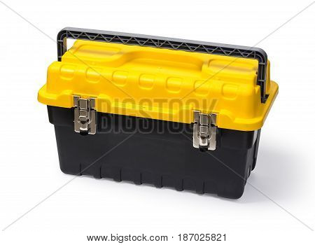 toolbox isolated on white background with clipping path