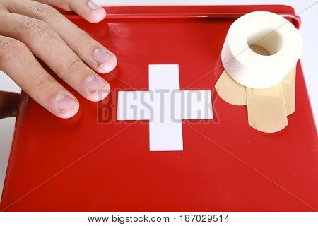 First aid first aid kit medicine care emergency medicine emergency medical kit preparedness