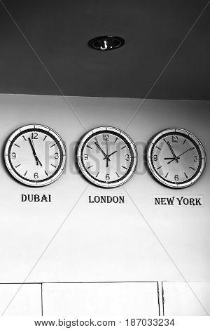 In Philipphines Airport  Worldwide Timezone