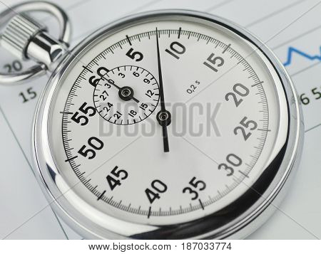 Finance stopwatch stop watch timer timepiece analog stopwatch timekeeper