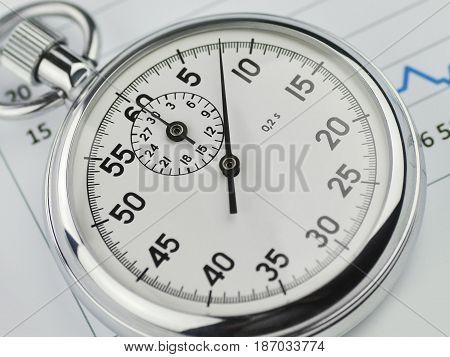 Finance stopwatch stop watch timer timepiece analog stopwatch timekeeper