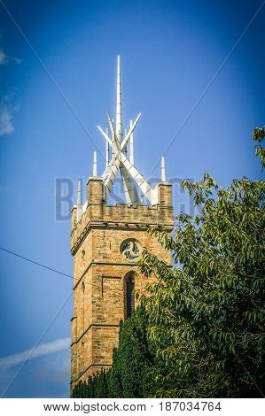 Beautiful LinlithgowSt. Michael's Church Spire Scotland UK