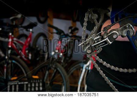 Master Bike Repairs In The Workshop 8