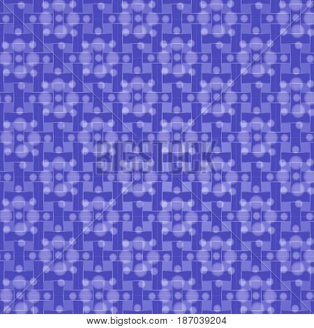 seamless pattern with white translucent flowers on a lilac background