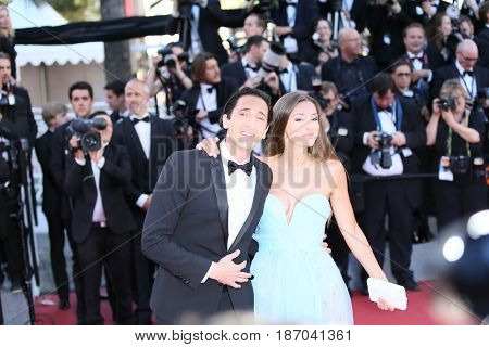 Adrien Brody attends the 'Ismael's Ghosts (Les Fantomes d'Ismael)' screening and Opening Gala during the 70th annual Cannes Film Festival at Palais  on May 17, 2017 in Cannes, France.