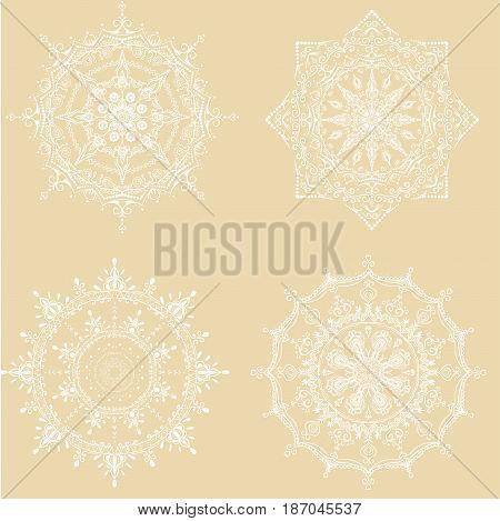 Mandala. Vintage decorative elements. Oriental pattern, vector illustration. Islam, Arabic, Indian, moroccan, spain, turkish, pakistan, chinese, mystic, ottoman motifs.