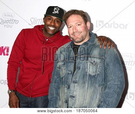 LOS ANGELES - MAY 17:  Jackie Long, David Weintraub at the OK! Magazine Summer Kick-Off Party at the W Hollywood Hotel on May 17, 2017 in Los Angeles, CA