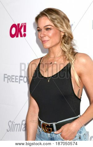 LOS ANGELES - MAY 17:  LeAnn Rimes at the OK! Magazine Summer Kick-Off Party at the W Hollywood Hotel on May 17, 2017 in Los Angeles, CA