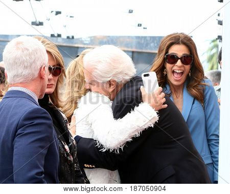 LOS ANGELES - MAY 15:  Greg Meng, Deidre Hall, Shelley Curtis, Ken Corday, Kristian Alfonso at the Ken Corday Star Ceremony on the Hollywood Walk of Fame on May 15, 2017 in Los Angeles, CA