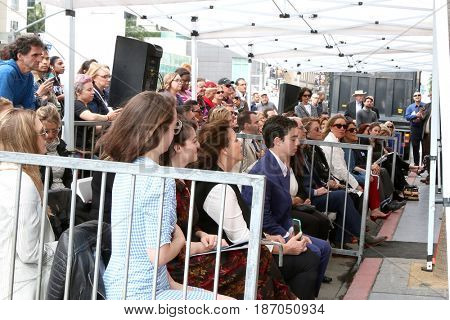 LOS ANGELES - MAY 15:  Guests at the Ken Corday Star Ceremony on the Hollywood Walk of Fame on May 15, 2017 in Los Angeles, CA