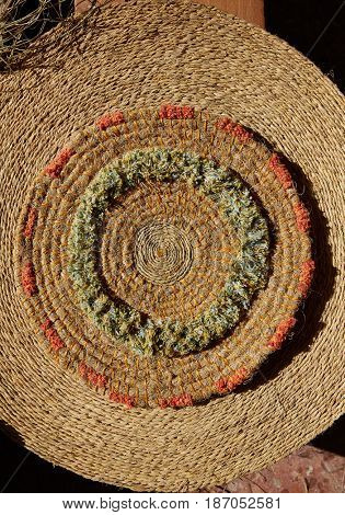 Esparto halfah grass used for crafts as cords basketry and espadrilles