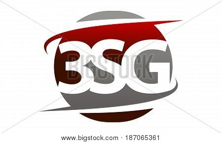 This image describe about Modern Logo Solution Letter 3SG Swoosh