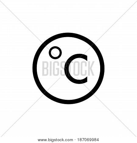 Degrees Celsius Vector Photo Free Trial Bigstock